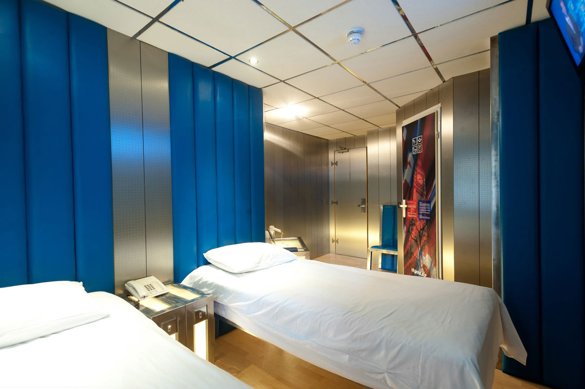 Twin Room Paddington Central London Stylotel